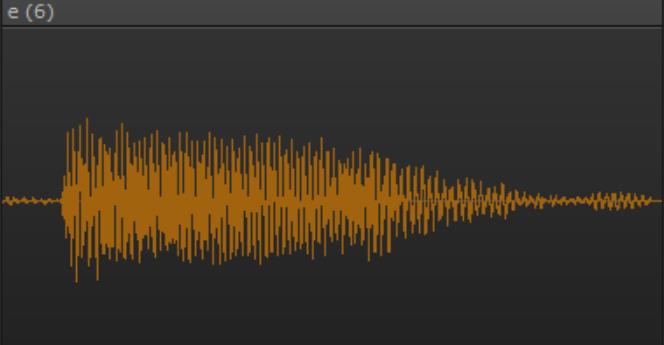 コンプレッサー処理後の波形