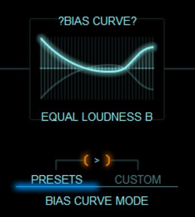 BIAS CURVE 説明