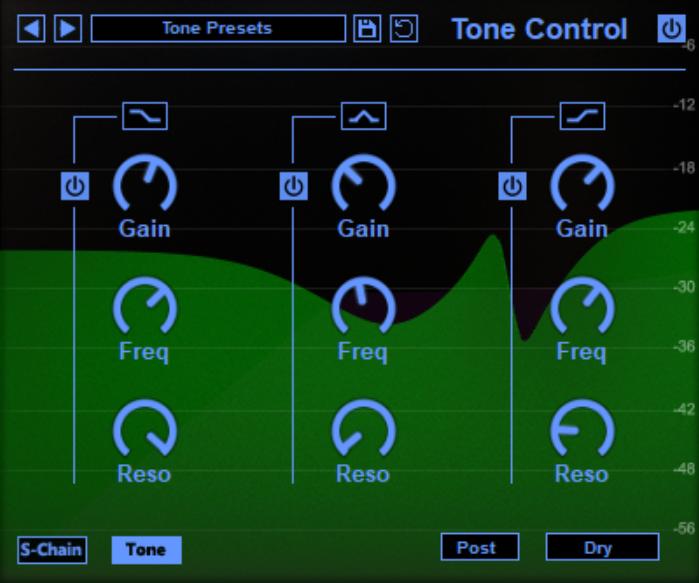 Manic compressor Tone EQ