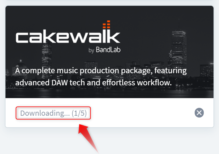 完全無料のDAW「Cakewalk by BandLab」をインストールしてみよう