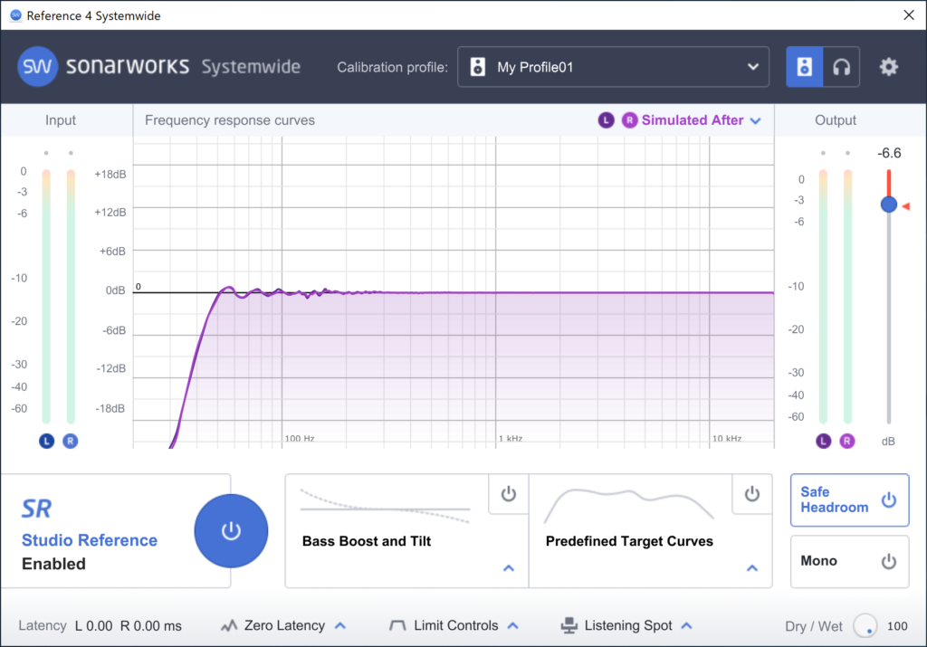 Sonarworks reference4 systemwide