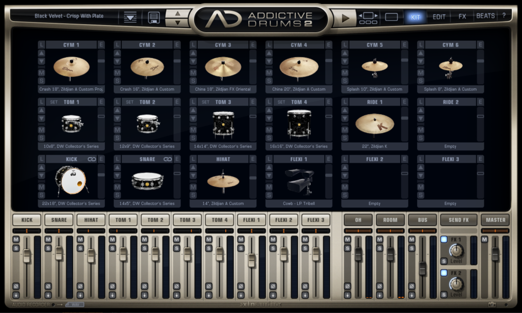 Addictive drums 2 KIT