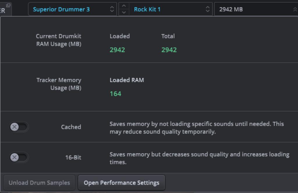 Superior Drummer 3 重さ